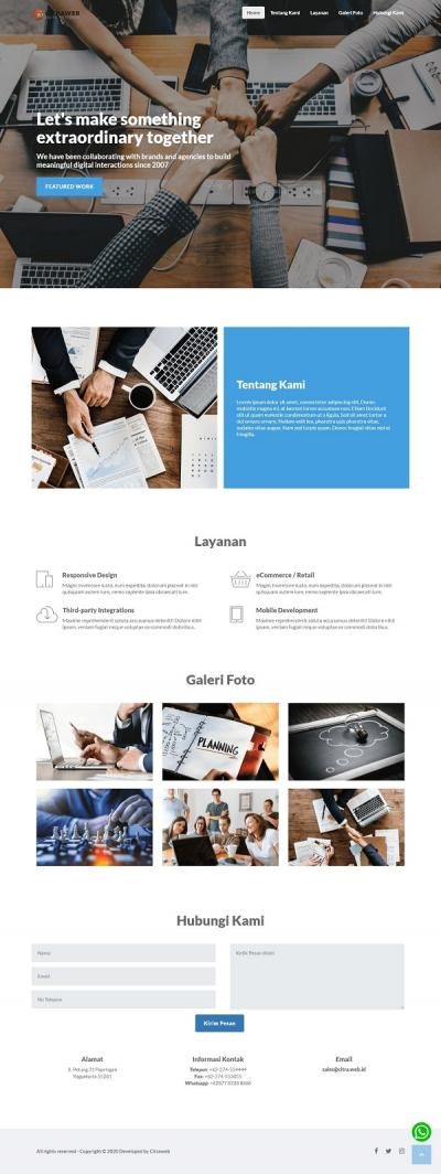 LANDING PAGE - AGENCY
