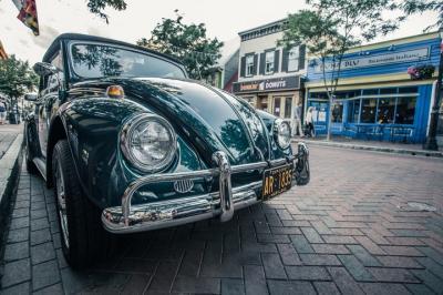 Mobil Klasik Hijau