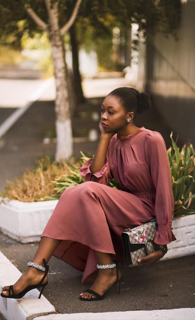 Dress Midi Samantha Salem