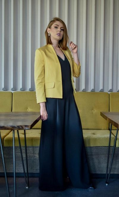 Alannaa Yellow Blazer